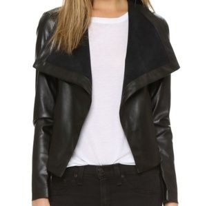 BB Dakota faux leather jacket